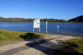The Island boat launch slipway - Sedgefield, Sedgefield, Garden Route, South Africa