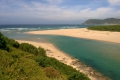 Sedgefield Beach - River Mouth, Sedgefield, Garden Route, South Africa