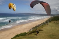 Watching the Paragliders @ Wilderness Beach