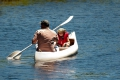 Canoeing on the Goukamma River, Knysna, Garden Route, South Africa