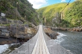 The Storms River Suspension Bridge, Storms River, Garden Route, South Africa