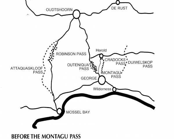Cradock Pass – (Old Passes before the Montagu Pass), George